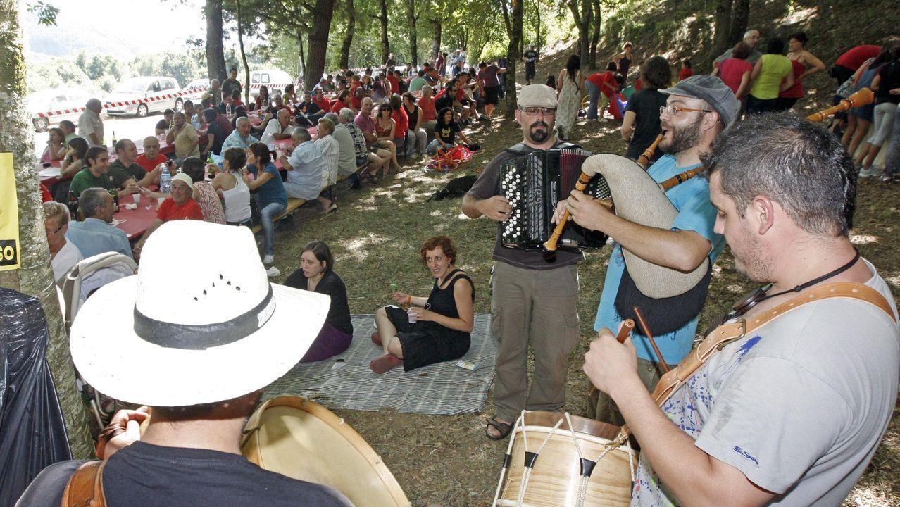 Una edición anterior del festival Terra Brava de O Incio, uno de los que se anulan este año