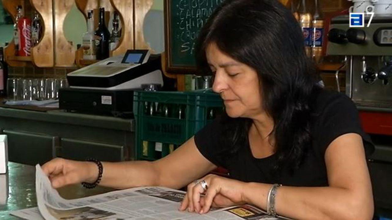 Yolanda Fernández, madre de Germán, el joven gijonés agredido