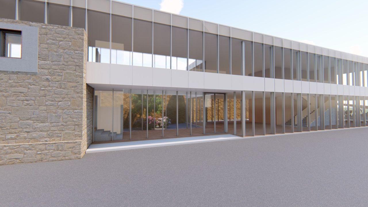 Asi será el espacio multifuncional del Club Fluvial de Lugo