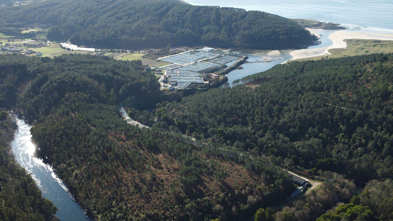 Imagen de archivo de la estacion depuradora de Ribadumia