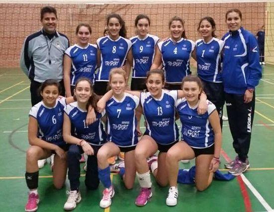 Hace dos temporadas ya se disputó una fase final de voleibol en el pabellón de A Pinguela.