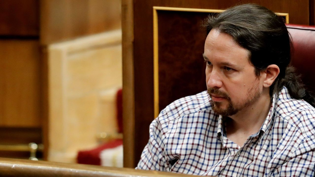 El líder de Podemos, Pablo Iglesias,  choca con los anticapitalistas, IU, Equo y un 30% de las bases