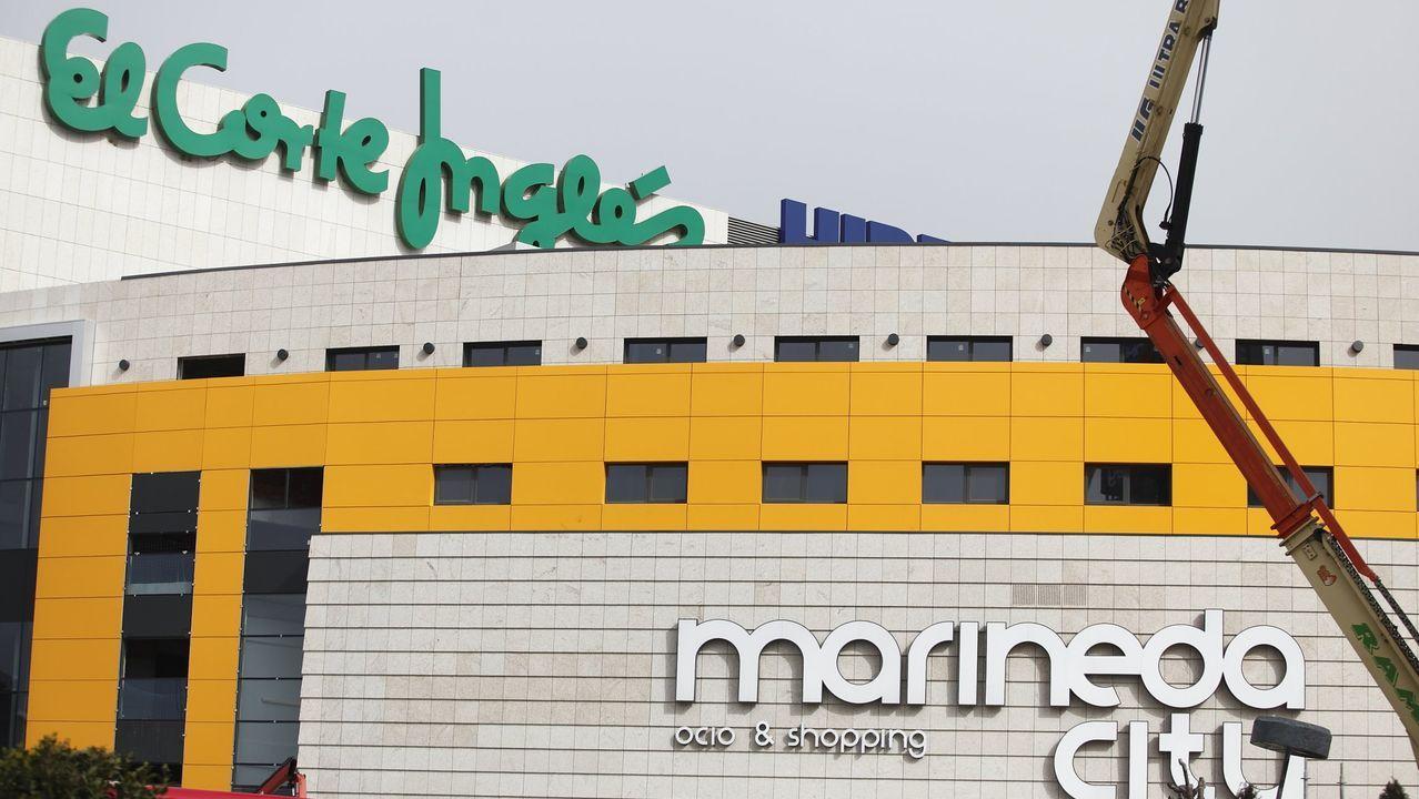 El Corte Inglés, en Marineda City, A Coruña
