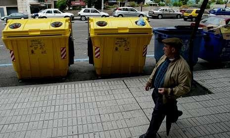 Cada vigués deposita una media de 9,1 kilos de envases en los contenedores amarillos.