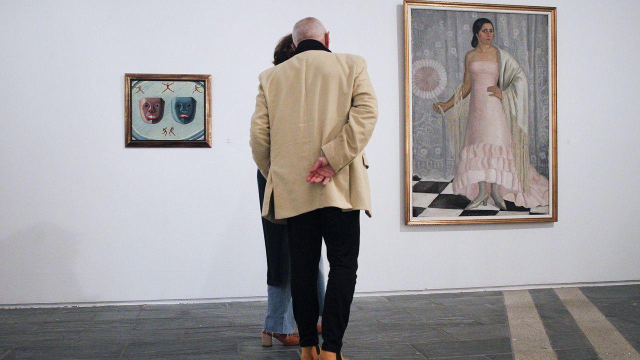 El Museo Provincial de Lugo permite disfrutar de sus colecciones y obras, como las de Maruja Mallo, a través de las redes sociales