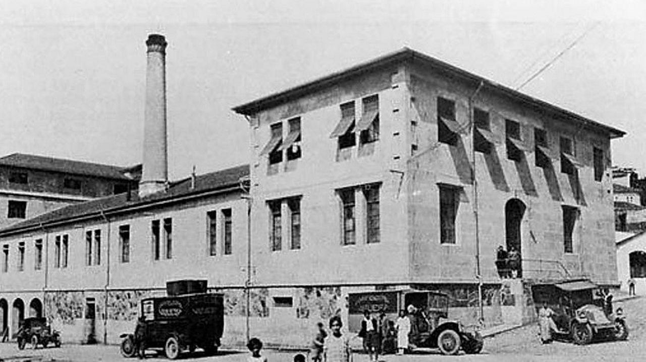 Foto atribuida a Pacheco, ac. 1924. Cedida a Vigo Industrial