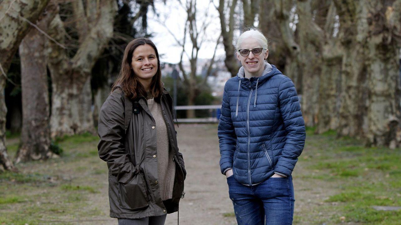 Charla entre Susana Rodríguez y Sofía Toro.Salto de Lamela en Maebashi