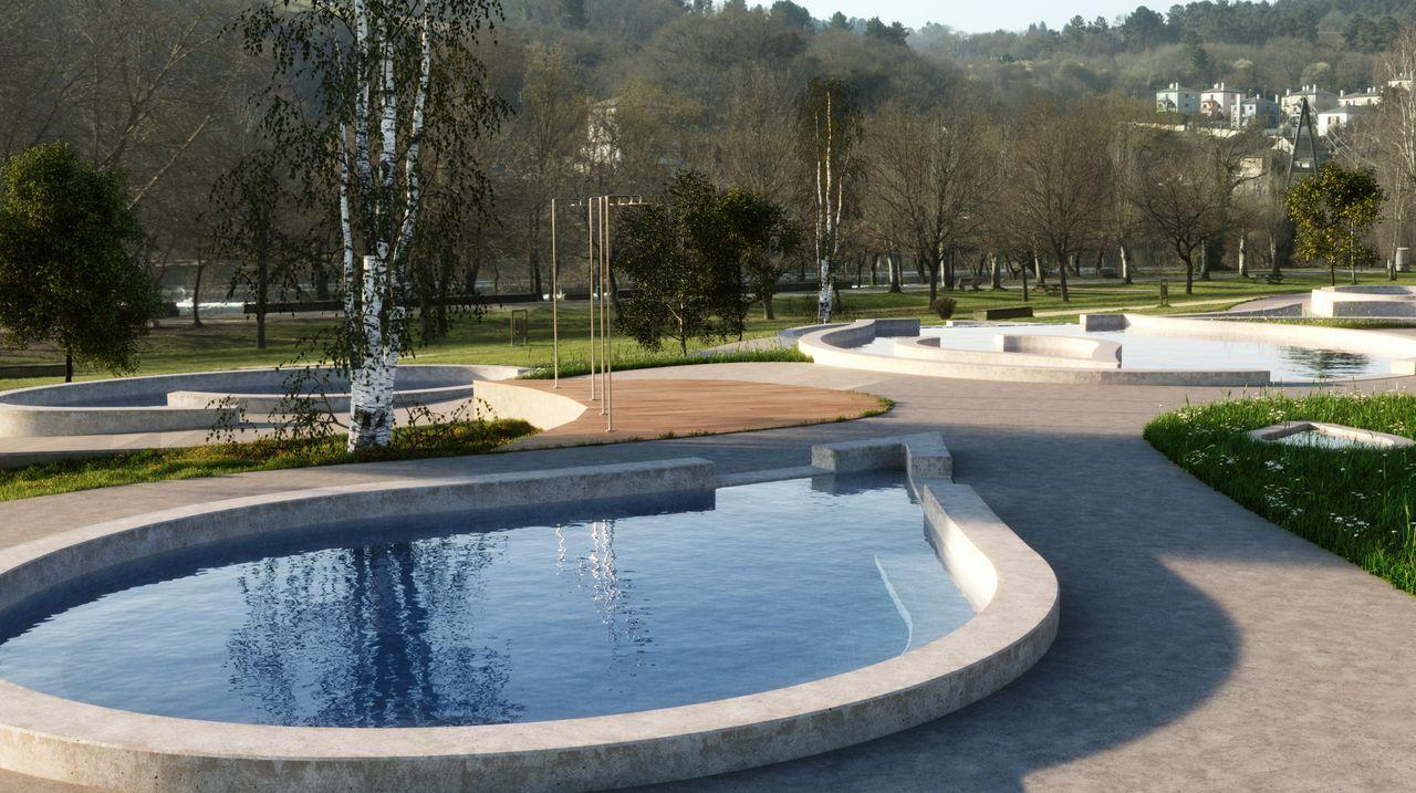 El proyecto de las caldas de Lugo