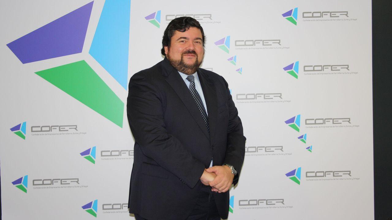 Óscar Laiño inventa KAD.Cristóbal Dobarro, presidente de Cofer