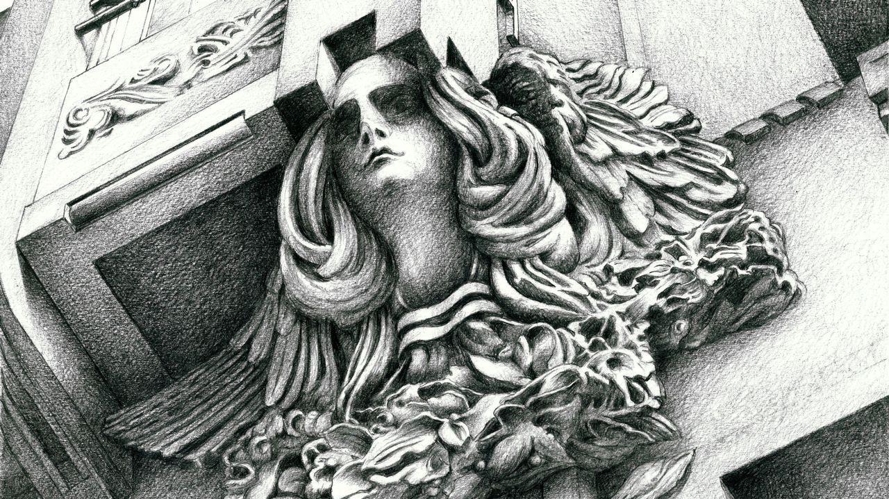FLORIAN WIESER / EFE.La figura humana adquiere mayor protagonismo en este volumen. Como ejemplo, una de las ménsulas de Ramón Núñez en un edificio del Preguntoiro