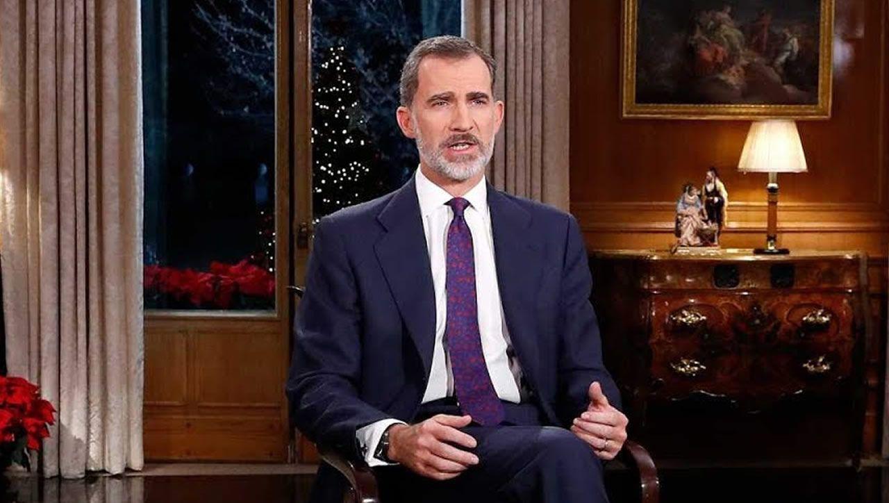 Sigue en directo la retransmisión del discurso del rey.Felipe VI durante su tradicional discurso de Nochebuena