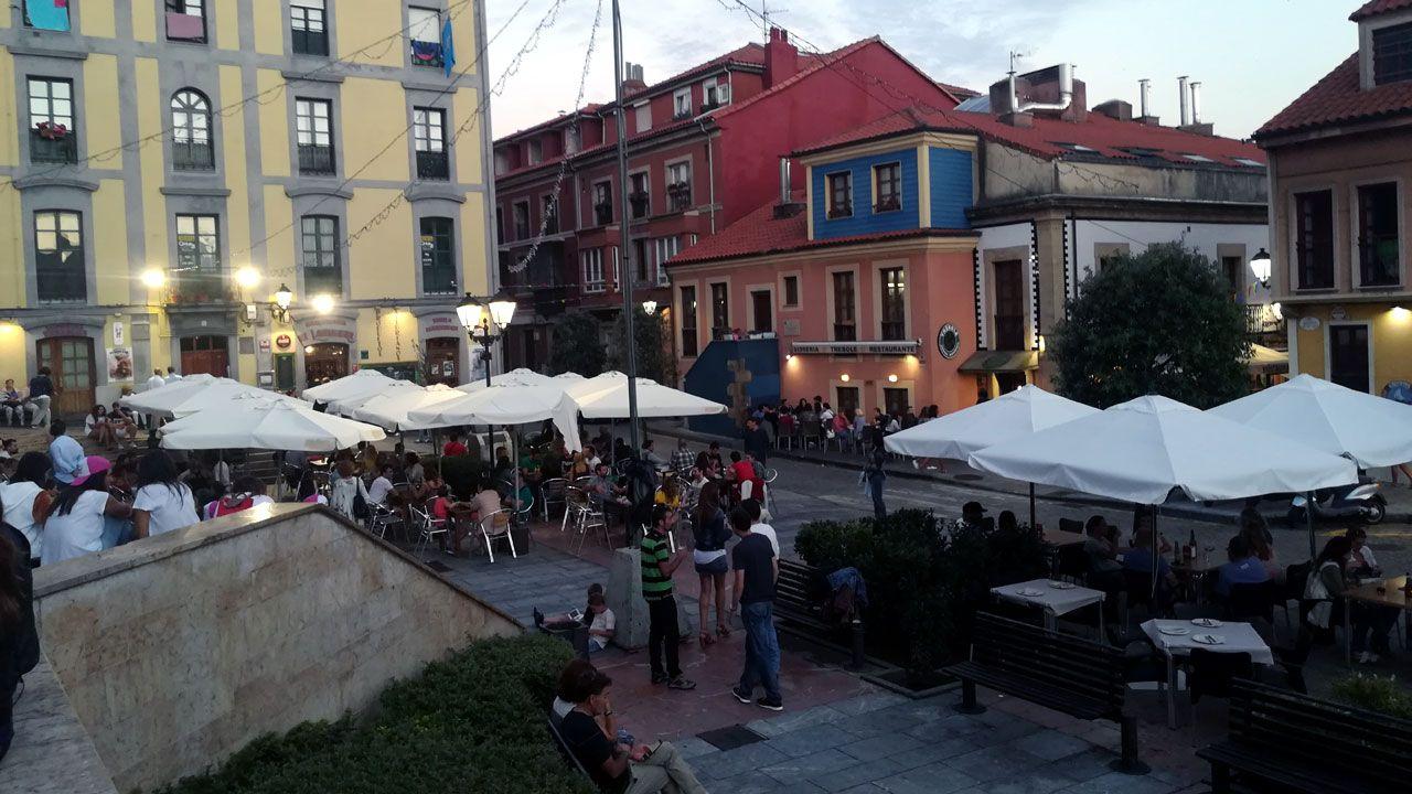 Plaza de Arturo Arias, en Cimavilla