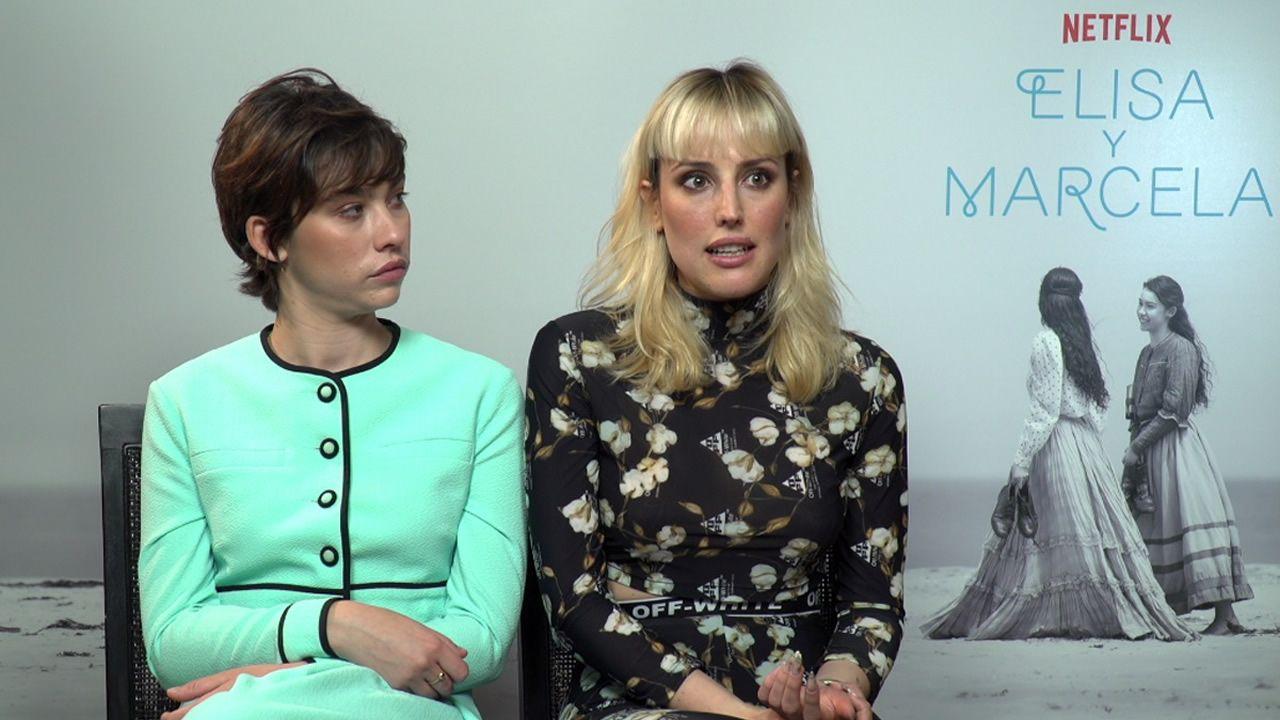 Greta Fernández y Natalia de Molina, Marcela y Elisa en la película de Isabel Coixet