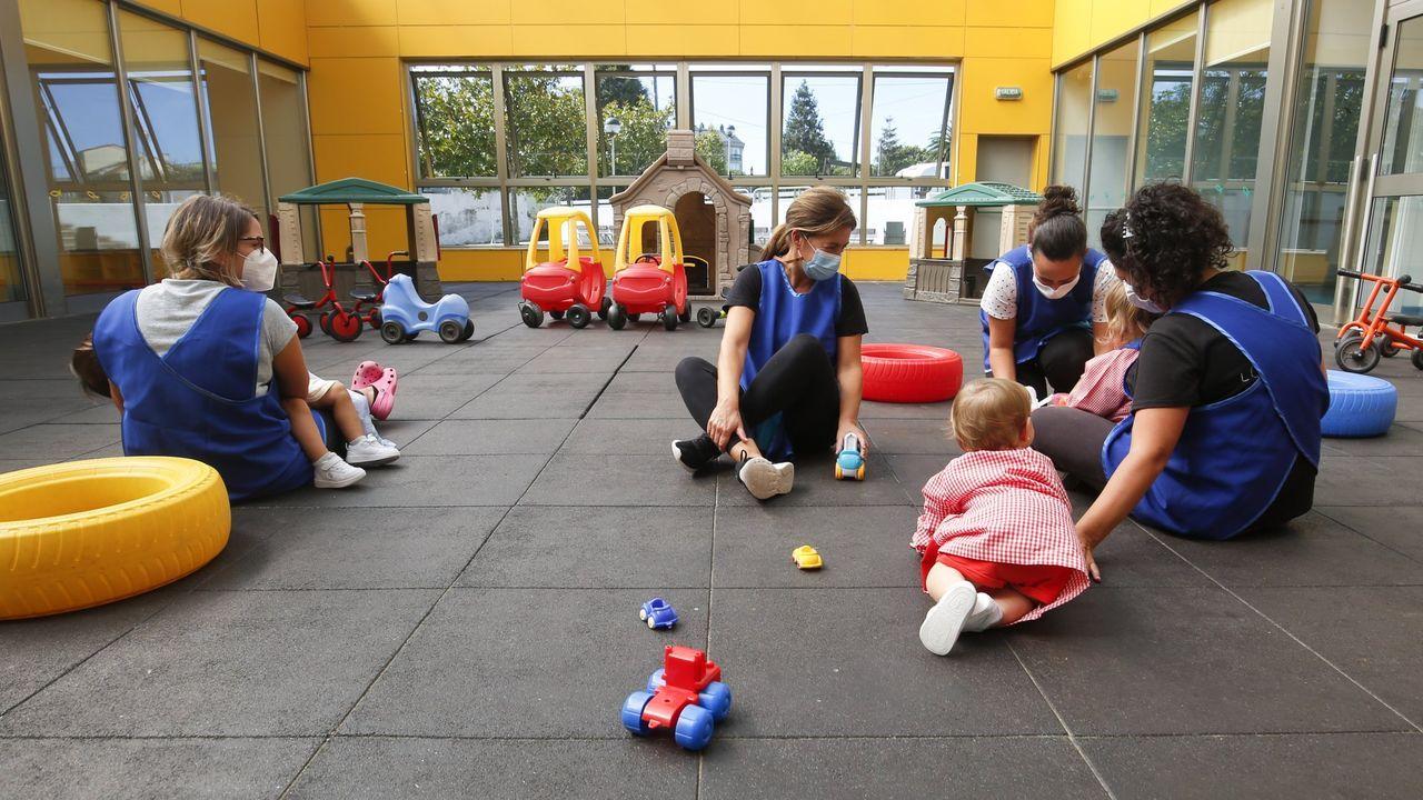 Escuela Infantil de Piñeiros, en una imagen de archivo