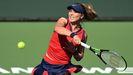 Paula Badosa, en la final de Indian Wells que ganó ante Victoria Azarenka