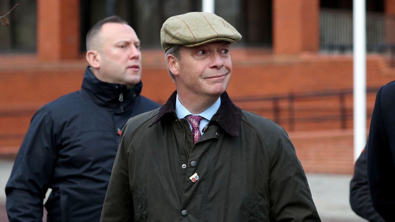 Nigel Farage anunció el pacto durante  un mitin en la localidad inglesa de Hartlepool