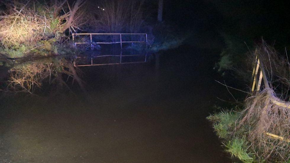 Desbordamiento del río Tambre