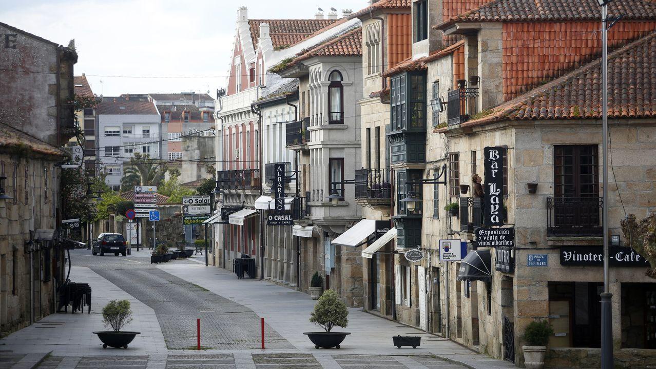 Calle Real (Cambados).