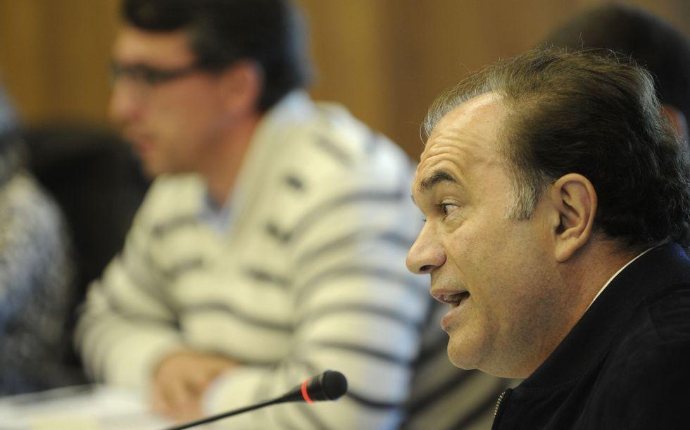 Crespo pidió más representación del PP en el Padroado Cultural.