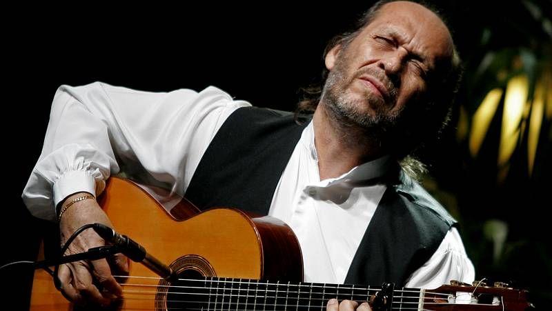 El gran músico de flamenco.Vicente Amigo