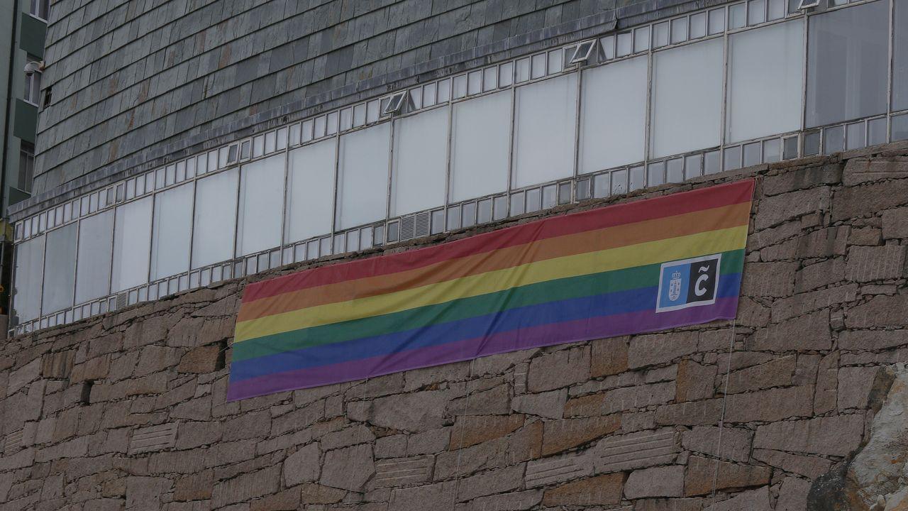Celebración del Día del Orgullo en Ourense
