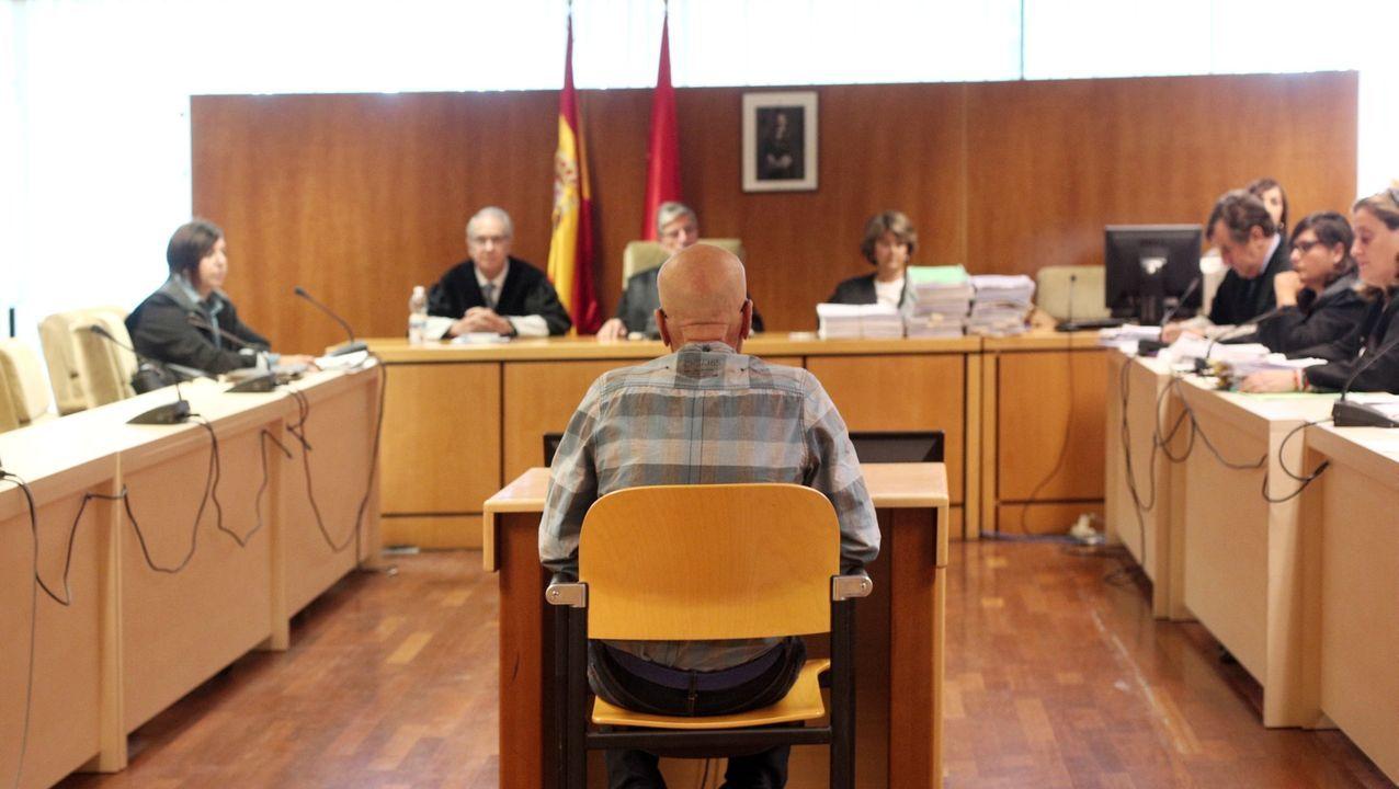 Pedro Luis Gallego, conocido como el violador del ascensor, durante el jucio celebrado en la Audiencia Provincial de Madrid