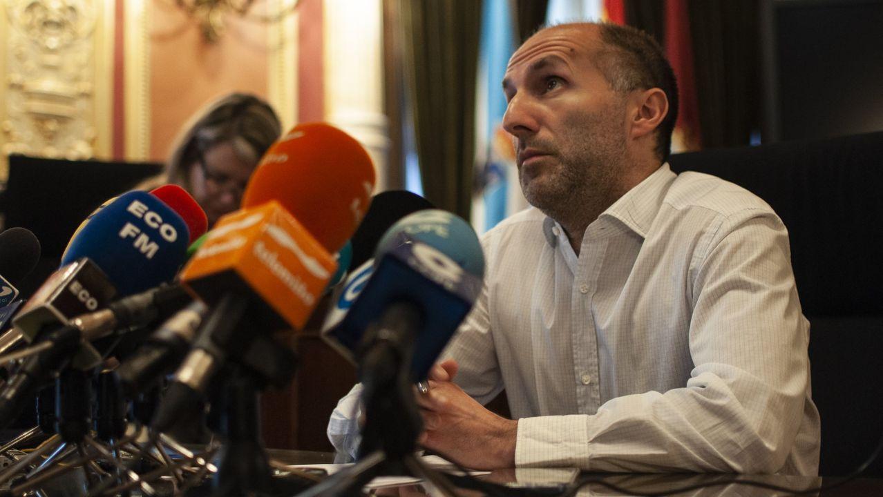 El alcalde de Ourense, Pérez Jácome