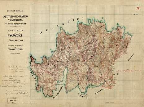 El mapa es de 1942.