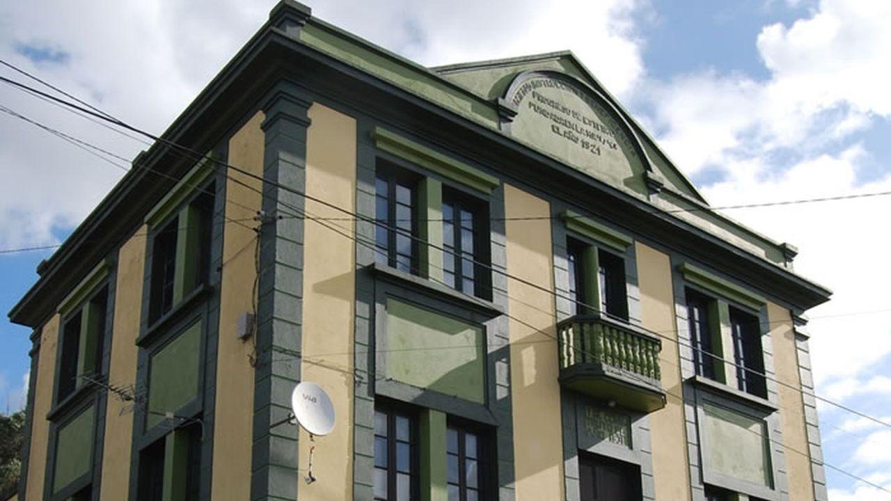 Antiguo escolar de Sisalde Maior, en Cedeira