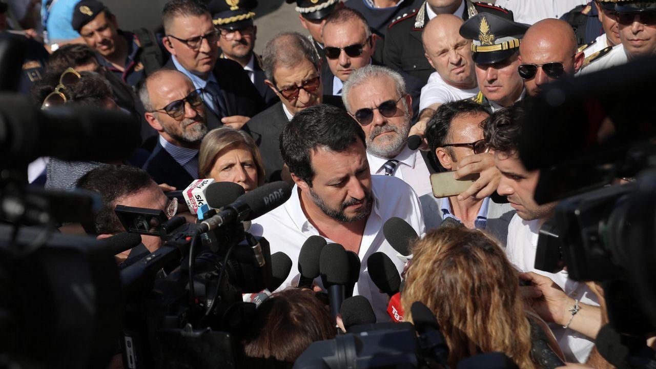 Matteo Salvini, ministro de Interior italiano