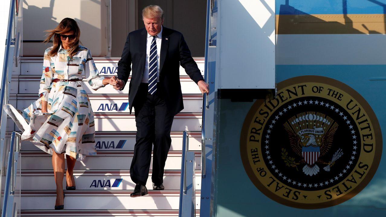 En su viaje a Japón, Trump será el primer dirigente en ser recibido por el emperador Naruhito