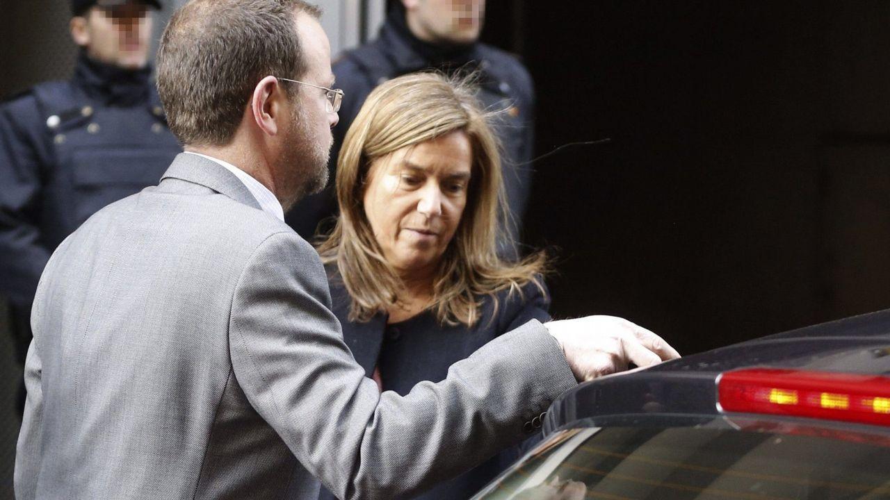 Fotografía de archivo de Ana Mato, a su salida de la Audiencia Nacional