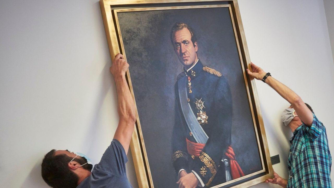 El Gobierno mantiene dos puntos de vista sobre la salida de España del emérito.Marcelo Rebelo de Sousa, presidente de Portugal