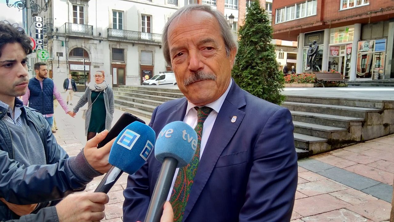 Villa Magdalena.Wenceslao López, alcalde de Oviedo