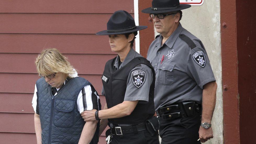 Joyce Mitchell, funcionaria de la prisión de Dannemora de Nueva York que ayudó a huir a dos presos