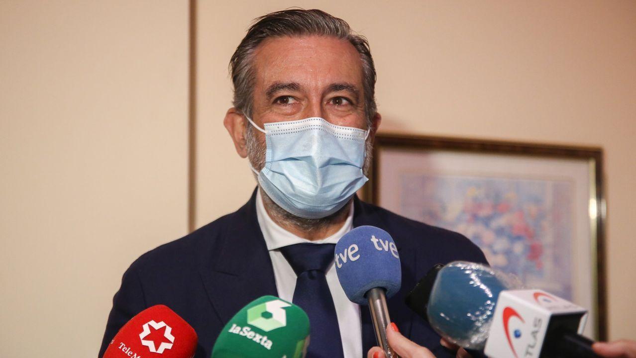 El responsable de Justicia del PP, Enrique López