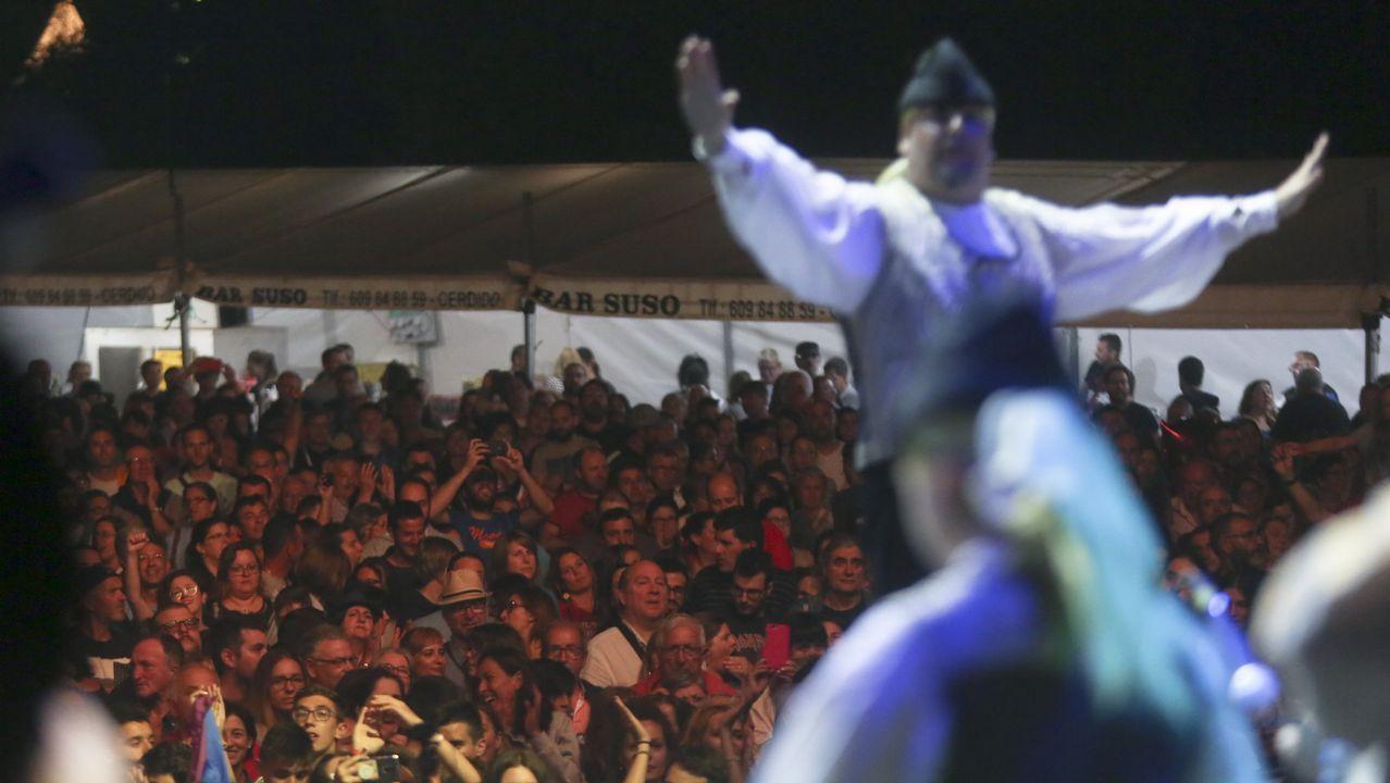 As oito nacións celtas, representadas no Festival de Ortigueira.La zona de acampada está abarrotada de asistentes al festival