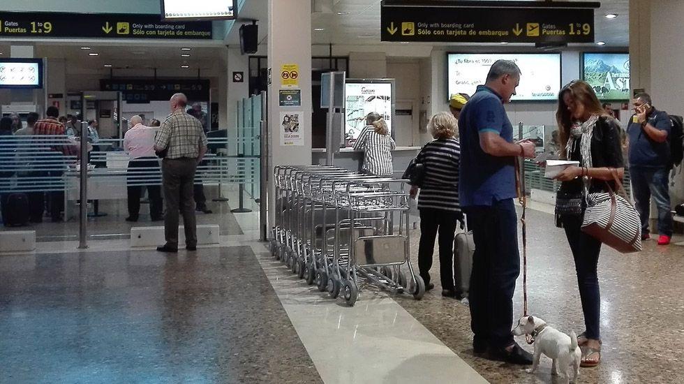 Amanecer helado en el refugio del Meicín.Aeropuerto de Asturias