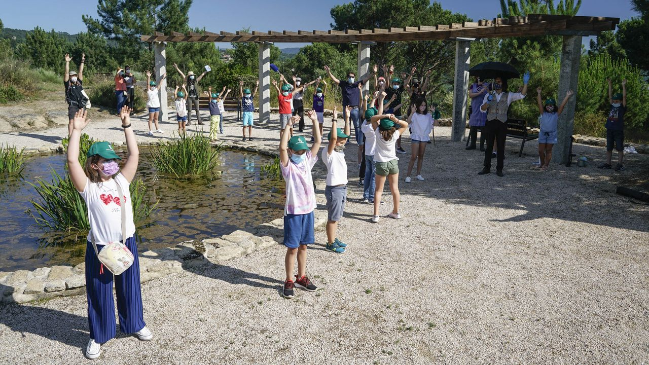 El parque de Montealegre fue escenario de actividades infantiles