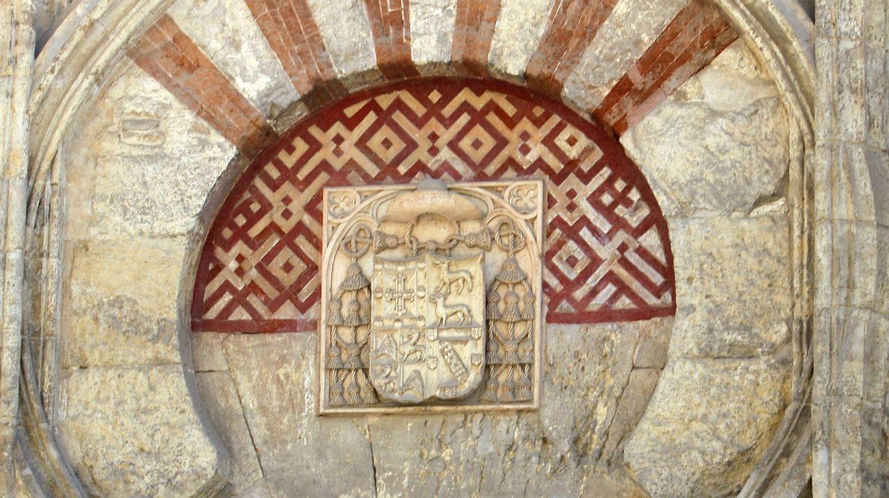 Igrexa de San Martiño na Mezquita, un concello de nome claramente árabe