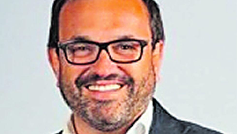 Ignacio González. Consejero delegado. Procede de Campofrío, y antes estuvo en Carrefour. Acaba de ocupar su despacho.