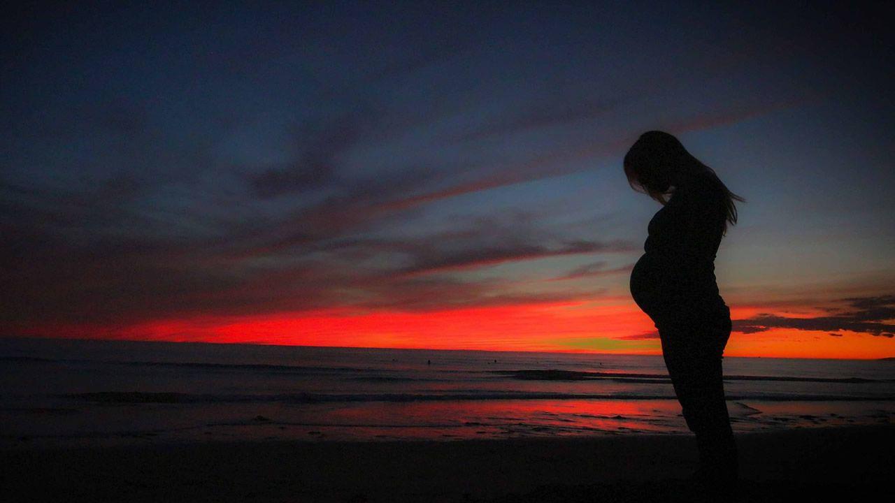 Imagen de recurso de una mujer embarazada