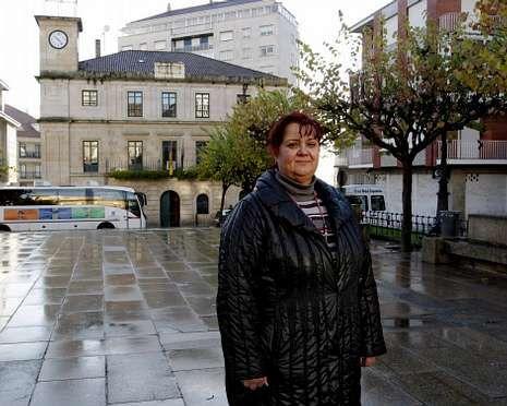 Teresa González es funcionaria municipal desde hace 16 años.