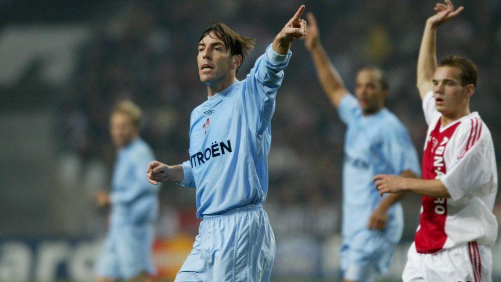Celta-Arsenal el 24 de febrero del 2004