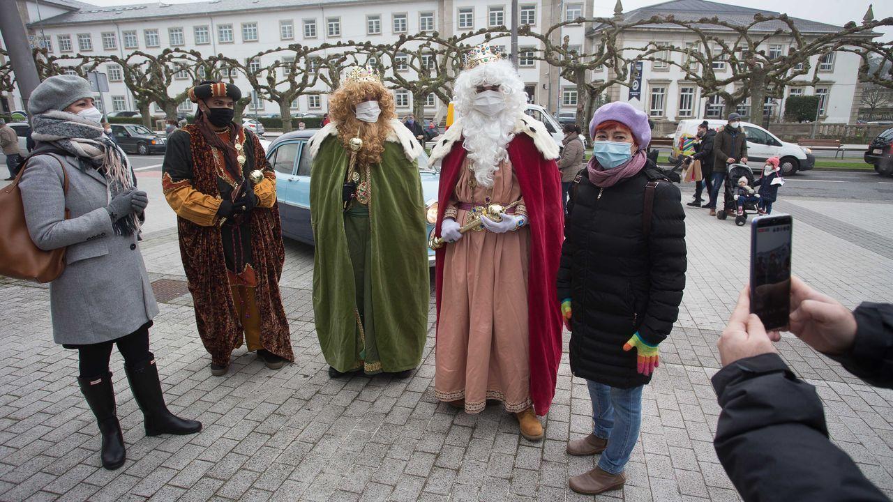 Los Reyes Magos ya están en Lugo
