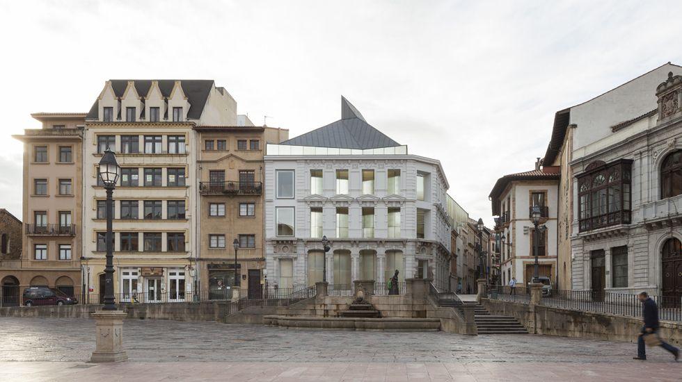 Spot de Saco 7.La ampliación del Museo de Bellas Artes de Asturias