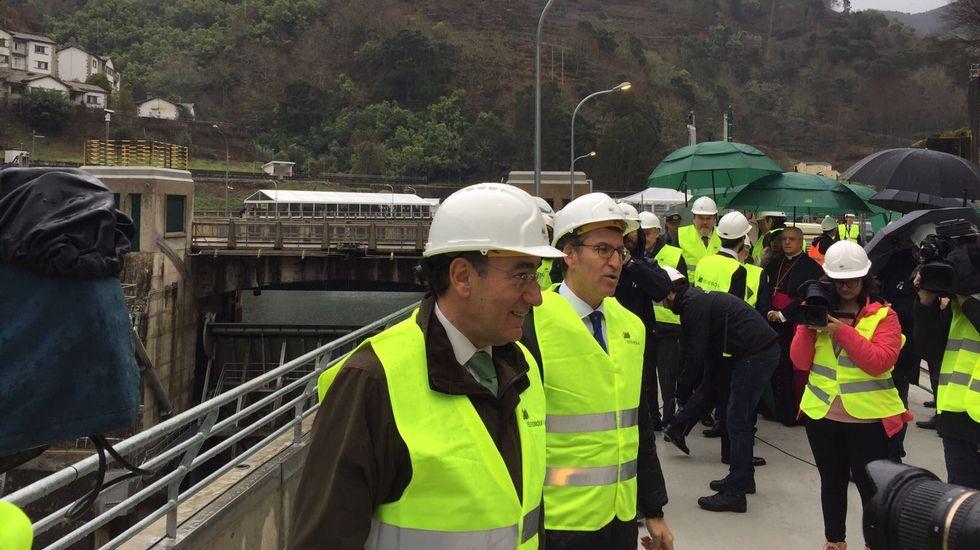 Inauguración de la central hidroeléctrica San Pedro II