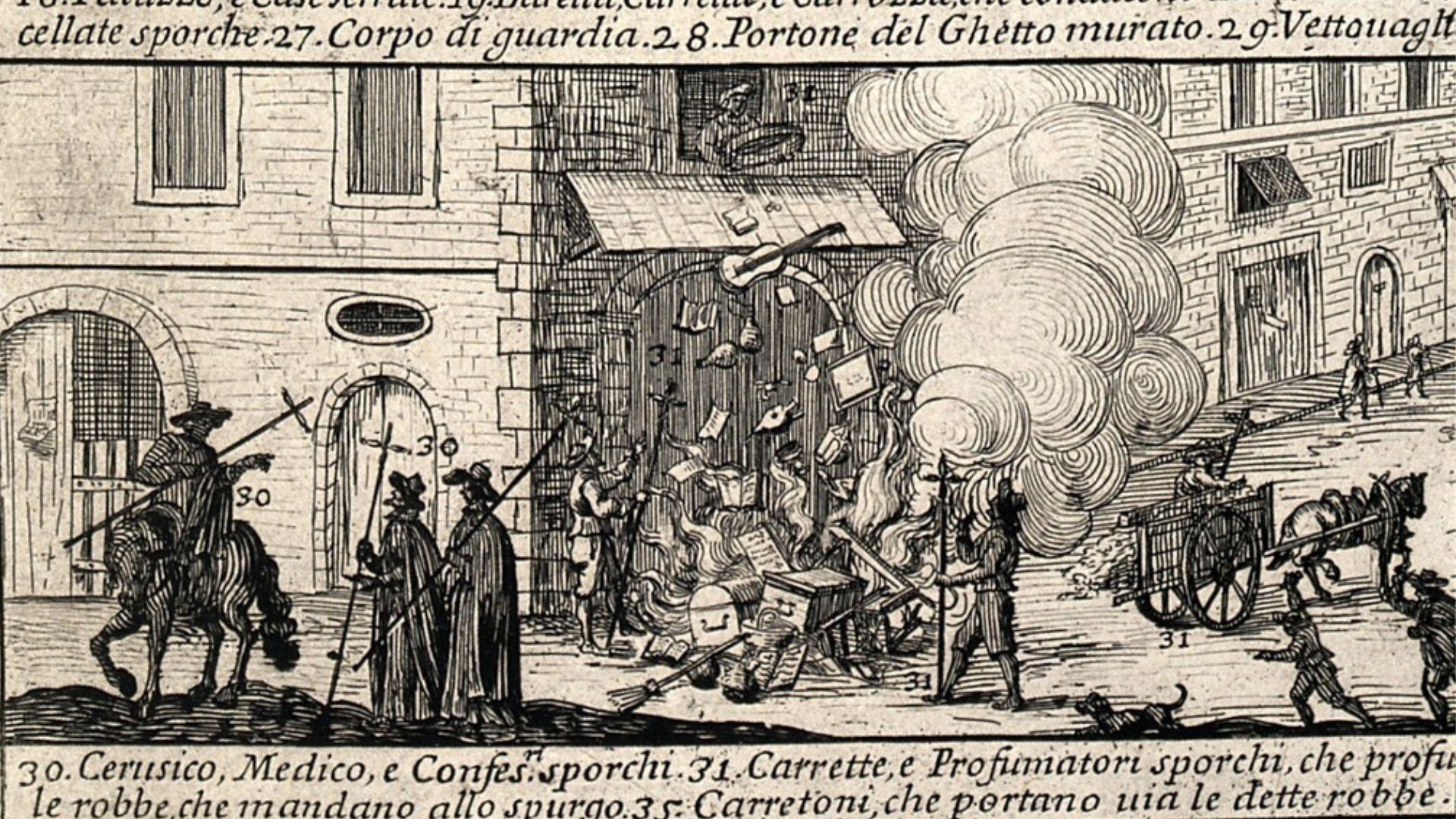 La «peste» de mediados del siglo XVIII. Años 1647-1657. Este brote de peste afectó al occidente mediterráneo y en la Peninsula Ibérica causó 500.000 muertes.