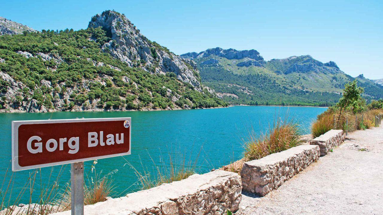 Gorg Blau, en Mallorca
