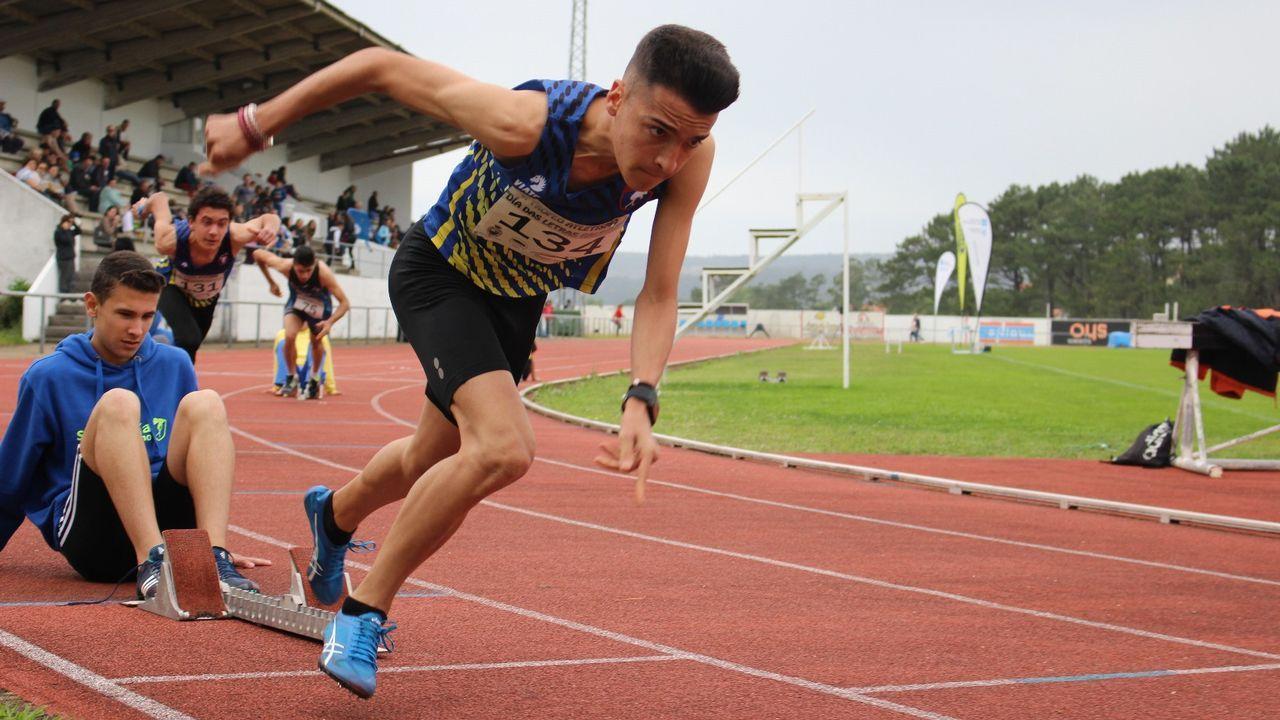 La nueva joya del atletismo coruñés